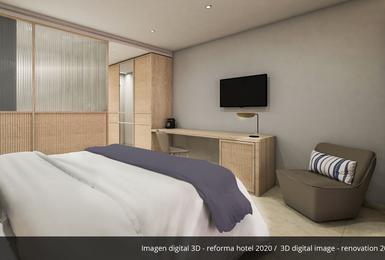 Camera- Rinnovato nel 2020 Hotel AluaSoul Palma (Solo Adulti) Cala Estancia, Mallorca