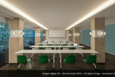 Sala riunioni- Rinnovato nel 2020 Hotel AluaSoul Palma (Solo Adulti) Cala Estancia, Mallorca