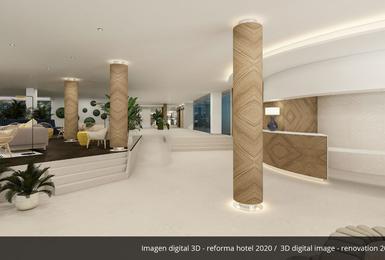 Atrio- Rinnovato nel 2020 Hotel AluaSoul Palma (Solo Adulti) Cala Estancia, Mallorca