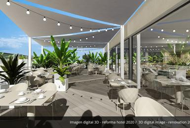 Terrazza- Rinnovato nel 2020 Hotel AluaSoul Palma (Solo Adulti) Cala Estancia, Mallorca