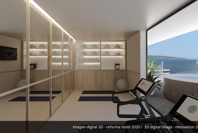 Palestra- Rinnovato nel 2020 Hotel AluaSoul Palma (Solo Adulti) Cala Estancia, Mallorca