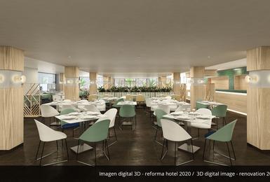 Ristorante a buffet- Rinnovato nel 2020 Hotel AluaSoul Palma (Solo Adulti) Cala Estancia, Mallorca